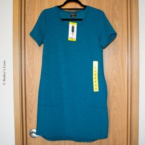 NWT Blue Shirt Dress with Pockets by 32°